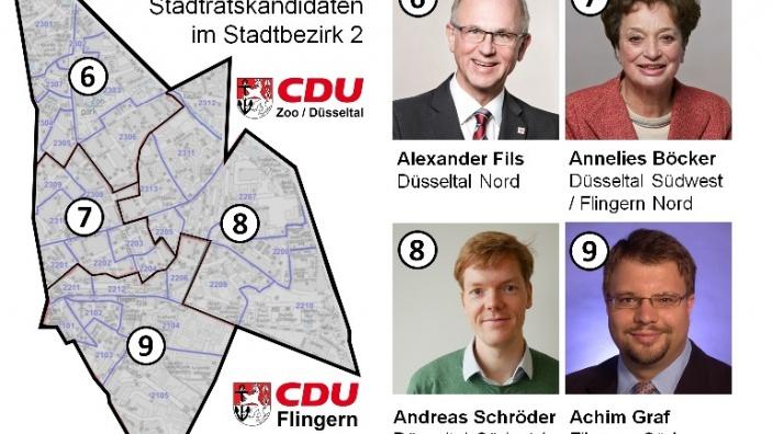 Ratskandidaten Stadtbezirk 2